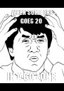WHEN SOME ONE GOES 20  IN A 60 ZONE  - Personalised Poster A4 size