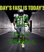 WIN THE   DAY TERRELL - Personalised Poster A4 size