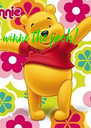 winne the pooh! - Personalised Poster A4 size