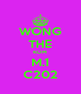 WONG THE KOM M.1 C202 - Personalised Poster A4 size