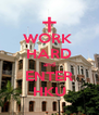 WORK  HARD and ENTER HKU - Personalised Poster A4 size