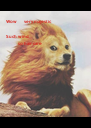 Wow       very majestic  Such wind              so hair care - Personalised Poster A4 size
