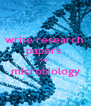 write research  papers  on  microbiology  - Personalised Poster A4 size