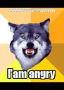 wwwwwaaaaarrrrrhhhhhhh l'am angry - Personalised Poster A4 size
