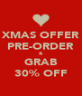 XMAS OFFER PRE-ORDER & GRAB 30% OFF - Personalised Poster A4 size