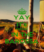 YAY IT's FRIDAY IN THE BAROSSA - Personalised Poster A4 size