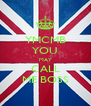 YMCMB YOU MAY CALL ME BOSS - Personalised Poster A4 size