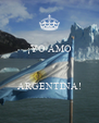 ¡YO AMO    ARGENTINA! - Personalised Poster A4 size