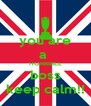 you are a  HORRIBLE boss keep calm!! - Personalised Poster A4 size