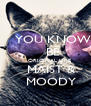 YOU KNOW     BE     ORIGINAL LIKE    MAIST &    MOODY - Personalised Poster A4 size