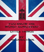 YOU KNOW THE  WORST SONG EVER? LITTLE THINGS BY  ONE DIRECTION.  - Personalised Poster A4 size