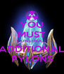 YOU MUST CONSTRUCT ADDITIONAL PYLONS - Personalised Poster A4 size