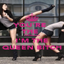 YOU'RE  THE  PRINCESS I'M THE QUEEN BITCH - Personalised Poster A4 size