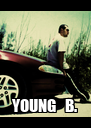 YOUNG   B. - Personalised Poster A4 size