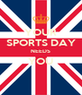YOUR SPORTS DAY NEEDS YOU  - Personalised Poster A4 size