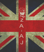 z A I A J - Personalised Poster A4 size