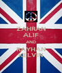 ZAHRAN ALIF AND RAYHAN KELVIN - Personalised Poster A4 size