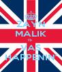 ZAYN MALIK IS  VAS HAPPENIN' - Personalised Poster A4 size