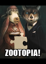 ZOOTOPIA! - Personalised Poster A4 size
