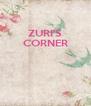 ZURI'S CORNER    - Personalised Poster A4 size