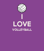 I LOVE VOLLEYBALL - KEEP CALM AND CARRY ON Image Generator