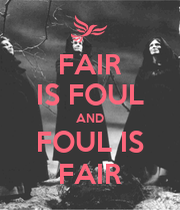 Fair Is Foul Macbeth