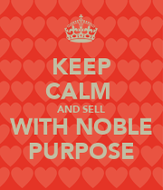 companies and noble purpose How noble purpose drives profit: a case study share  and financial performance by focusing on a noble purpose bigger  how companies actually work.