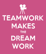 TEAMWORK MAKES THE DREAM WORK - KEEP CALM AND CARRY ON ...