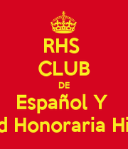 Homework – Español IV Honors/Gifted
