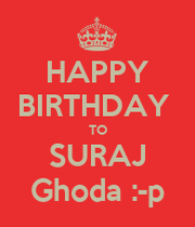Suraj name happy birthday image