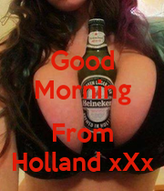 how to say good morning in holland