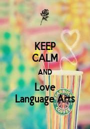 I Love Language Arts Tote Bag by customhearts |Love Language Arts
