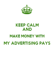 money and advertising