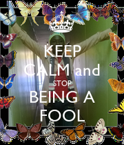 how to stop being a fool