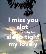 i miss you a lot baby - photo #15