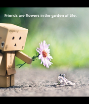 friends are flowers in the garden of life friends are flowers in the garden of life poster