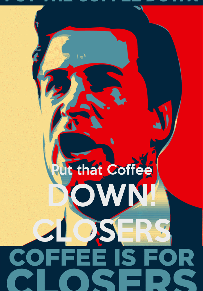 Put That In Your Cake And Bake It Poop Cakes: Put That Coffee DOWN! CLOSERS Poster