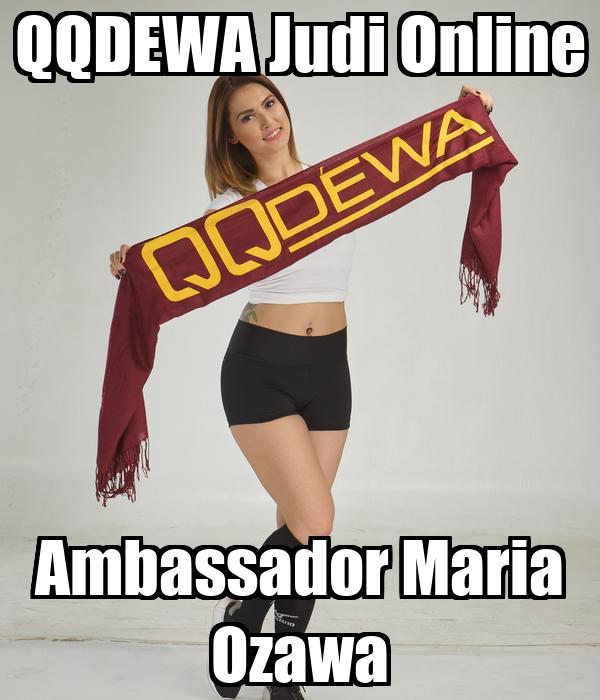 Qqdewa Judi Online Ambassador Maria Ozawa Poster Andizantona Keep Calm O Matic