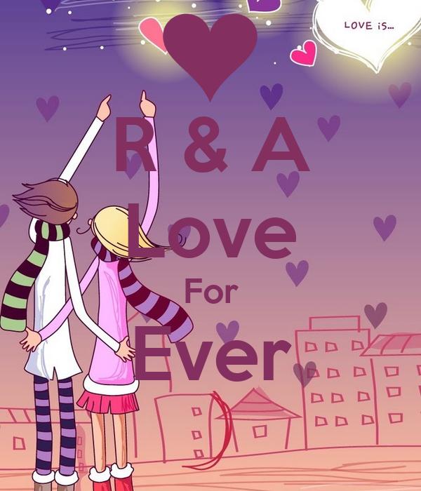 R A Love For Ever Poster Alia Keep Calm O Matic