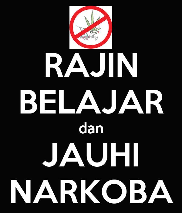 Rajin Belajar Dan Jauhi Narkoba Poster Stefannyycseubelan Keep