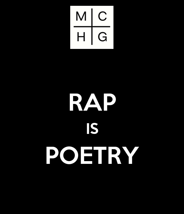 Is rap poetry?