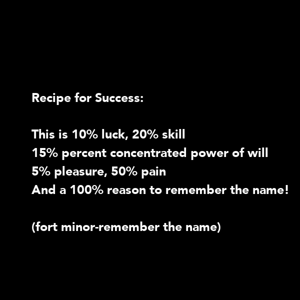 20 Luck 50 Percent Skill