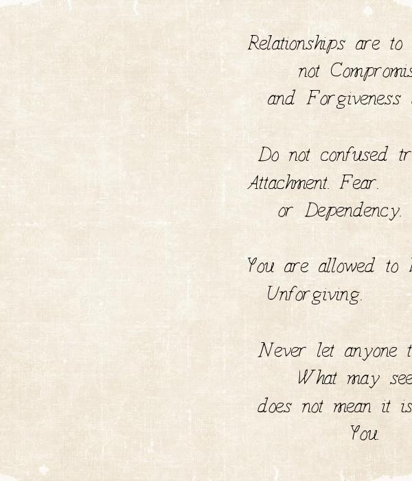 love vs attachment relationships