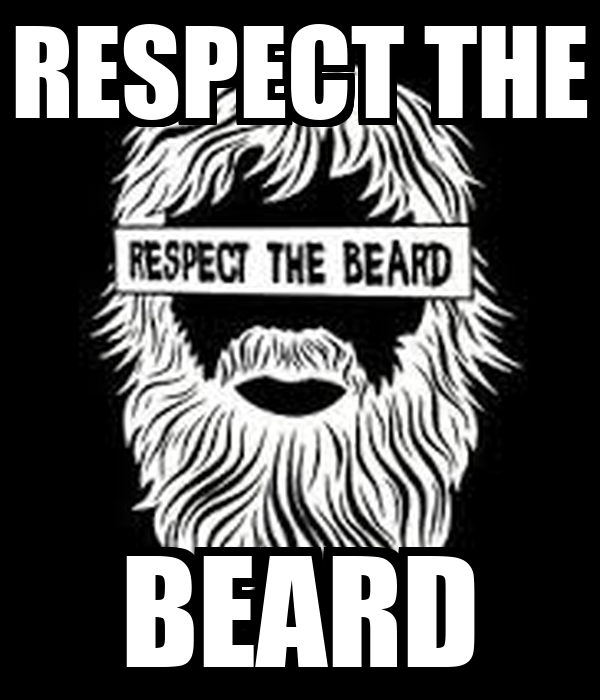 RESPECT THE BEARD - KEEP CALM AND CARRY ON Image Generator