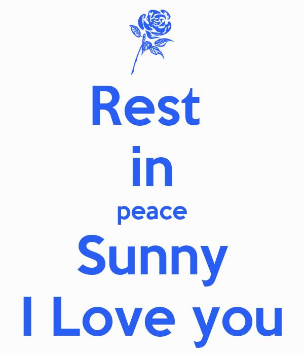 Sunny i love you