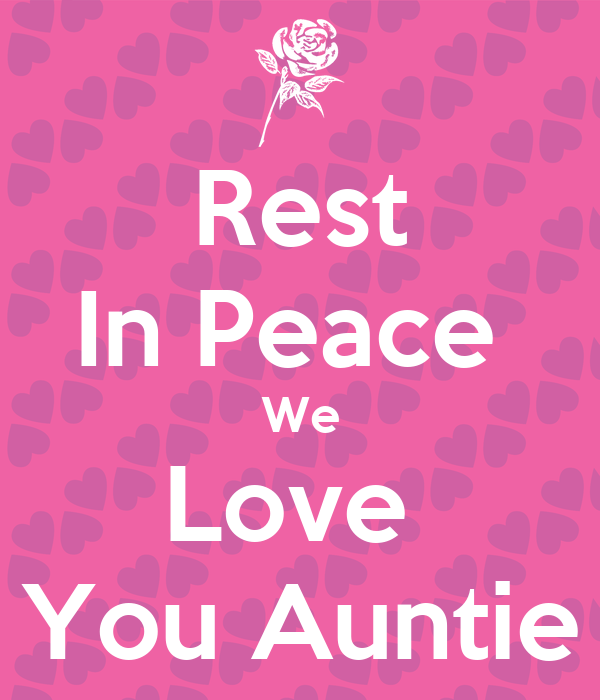 how to say rest in peace