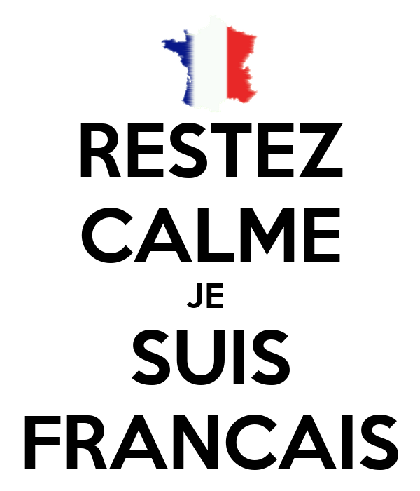 keep calm carry on France