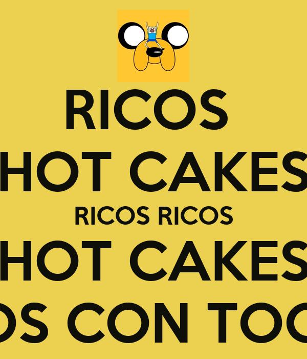 RICOS  HOT CAKES RICOS RICOS HOT CAKES RICOS CON TOCINO