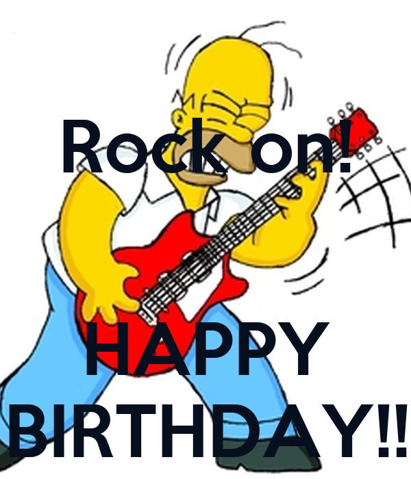 Rocker Geburtstag