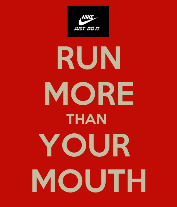 Running your mouth quotes